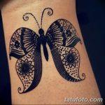 фото Мехенди бабочка от 01.08.2017 №075 - Mehendi Butterfly_tatufoto.com