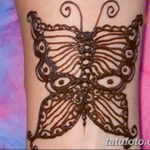 фото Мехенди бабочка от 01.08.2017 №083 - Mehendi Butterfly_tatufoto.com