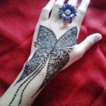 фото Мехенди бабочка от 01.08.2017 №086 - Mehendi Butterfly_tatufoto.com