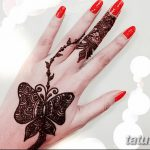 фото Мехенди бабочка от 01.08.2017 №087 - Mehendi Butterfly_tatufoto.com