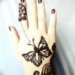 фото Мехенди бабочка от 01.08.2017 №089 - Mehendi Butterfly_tatufoto.com