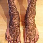 фото Мехенди на пальцах ног от 18.08.2017 №017 - Mehendi on toes_tatufoto.com