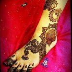фото Мехенди на пальцах ног от 18.08.2017 №018 - Mehendi on toes_tatufoto.com