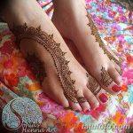 фото Мехенди на пальцах ног от 18.08.2017 №026 - Mehendi on toes_tatufoto.com