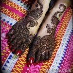 фото Мехенди на пальцах ног от 18.08.2017 №028 - Mehendi on toes_tatufoto.com