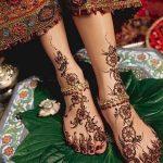 фото Мехенди на пальцах ног от 18.08.2017 №036 - Mehendi on toes_tatufoto.com
