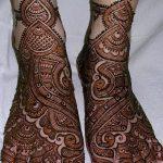 фото Мехенди на пальцах ног от 18.08.2017 №037 - Mehendi on toes_tatufoto.com