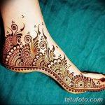 фото Мехенди на пальцах ног от 18.08.2017 №039 - Mehendi on toes_tatufoto.com