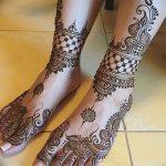 фото Мехенди на пальцах ног от 18.08.2017 №040 - Mehendi on toes_tatufoto.com