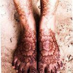 фото Мехенди на пальцах ног от 18.08.2017 №043 - Mehendi on toes_tatufoto.com