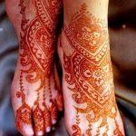 фото Мехенди на пальцах ног от 18.08.2017 №048 - Mehendi on toes_tatufoto.com