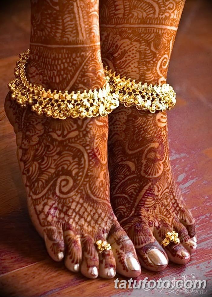 Индийские ножные браслеты своими руками 15