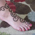 фото Мехенди на пальцах ног от 18.08.2017 №054 - Mehendi on toes_tatufoto.com