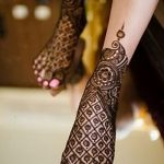фото Мехенди на пальцах ног от 18.08.2017 №061 - Mehendi on toes_tatufoto.com