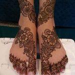 фото Мехенди на пальцах ног от 18.08.2017 №066 - Mehendi on toes_tatufoto.com