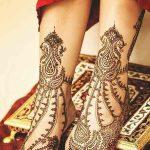 фото Мехенди на пальцах ног от 18.08.2017 №079 - Mehendi on toes_tatufoto.com