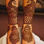 фото Мехенди на пальцах ног от 18.08.2017 №083 - Mehendi on toes_tatufoto.com