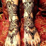 фото Мехенди на пальцах ног от 18.08.2017 №090 - Mehendi on toes_tatufoto.com