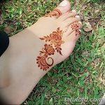 фото Мехенди на пальцах ног от 18.08.2017 №099 - Mehendi on toes_tatufoto.com