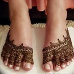 фото Мехенди на пальцах ног от 18.08.2017 №100 - Mehendi on toes_tatufoto.com