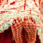 фото Мехенди на пальцах ног от 18.08.2017 №105 - Mehendi on toes_tatufoto.com