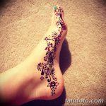 фото Мехенди на пальцах ног от 18.08.2017 №106 - Mehendi on toes_tatufoto.com