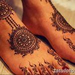 фото Мехенди на пальцах ног от 18.08.2017 №109 - Mehendi on toes_tatufoto.com