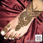 фото Мехенди на пальцах ног от 18.08.2017 №115 - Mehendi on toes_tatufoto.com