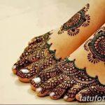 фото Мехенди на пальцах ног от 18.08.2017 №116 - Mehendi on toes_tatufoto.com