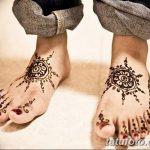 фото Мехенди на пальцах ног от 18.08.2017 №117 - Mehendi on toes_tatufoto.com