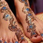 фото Мехенди на пальцах ног от 18.08.2017 №119 - Mehendi on toes_tatufoto.com