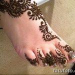 фото Мехенди на пальцах ног от 18.08.2017 №124 - Mehendi on toes_tatufoto.com