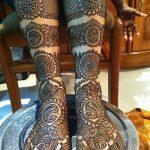 фото Мехенди на пальцах ног от 18.08.2017 №125 - Mehendi on toes_tatufoto.com