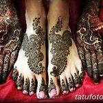 фото Мехенди на пальцах ног от 18.08.2017 №126 - Mehendi on toes_tatufoto.com