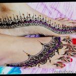 фото Мехенди на пальцах ног от 18.08.2017 №128 - Mehendi on toes_tatufoto.com