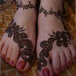 фото Мехенди на пальцах ног от 18.08.2017 №129 - Mehendi on toes_tatufoto.com