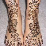 фото Мехенди на пальцах ног от 18.08.2017 №132 - Mehendi on toes_tatufoto.com
