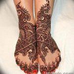 фото Мехенди на пальцах ног от 18.08.2017 №135 - Mehendi on toes_tatufoto.com