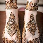 фото Мехенди на пальцах ног от 18.08.2017 №136 - Mehendi on toes_tatufoto.com