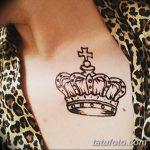 фото Мехенди рисунок корона от 02.08.2017 №006 - Mehendi drawing crown_tatufoto.com