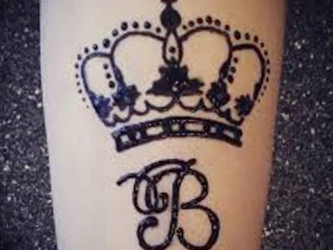 фото Мехенди рисунок корона от 02.08.2017 №019 - Mehendi drawing crown_tatufoto.com