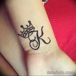фото Мехенди рисунок корона от 02.08.2017 №023 - Mehendi drawing crown_tatufoto.com