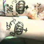 фото Мехенди рисунок корона от 02.08.2017 №024 - Mehendi drawing crown_tatufoto.com