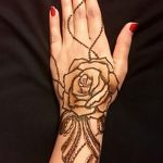 фото Мехенди роза от 19.08.2017 №008 - Mehendi Rose_tatufoto.com
