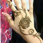 фото Мехенди роза от 19.08.2017 №012 - Mehendi Rose_tatufoto.com