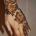 фото Мехенди роза от 19.08.2017 №050 - Mehendi Rose_tatufoto.com