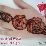 фото Мехенди роза от 19.08.2017 №066 - Mehendi Rose_tatufoto.com