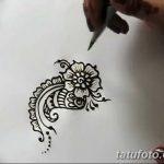 фото Мехенди цветок от 16.08.2017 №019 - Mehendi flower_tatufoto.com