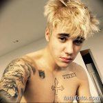 фото Тату Джастина Бибера от 08.08.2017 №023 - Justin Bieber's Tattoo_tatufoto.com