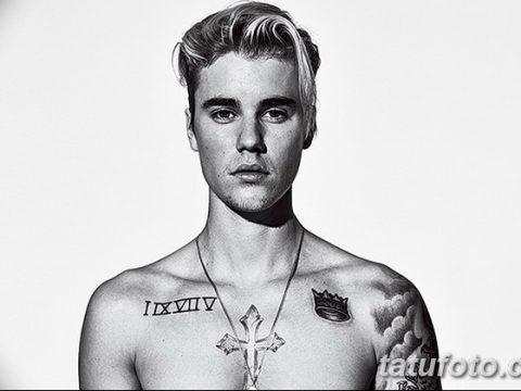 фото Тату Джастина Бибера от 08.08.2017 №027 - Justin Bieber's Tattoo_tatufoto.com